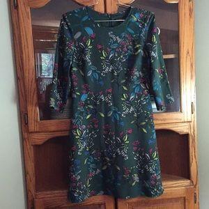 Banana Republic gorgeous multi-season Dress Sz 10.